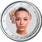rostro y cerebro dos caras misma moneda