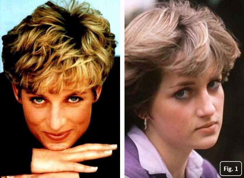 Diana de Gales. Rasgos faciales y personalidad a los 18 años